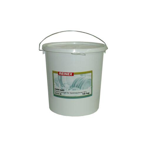 Reinex Chemie GmbH Cado mat Geschirrreiniger, für Geschirrspülmaschinen, 10 kg - Eimer