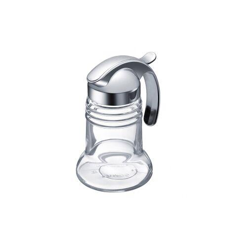 Westmark GmbH WESTMARK Paris-Chrome Sahnespender, Material: Kunststoff, Glas, Volumen: 150 ml