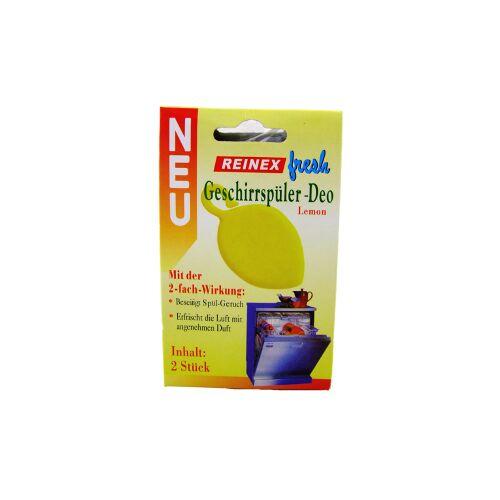 Reinex Chemie GmbH Reinex Geschirrspüler-Deo, Beseitigt Spülgeruch, 1 Packung = 2 Stück