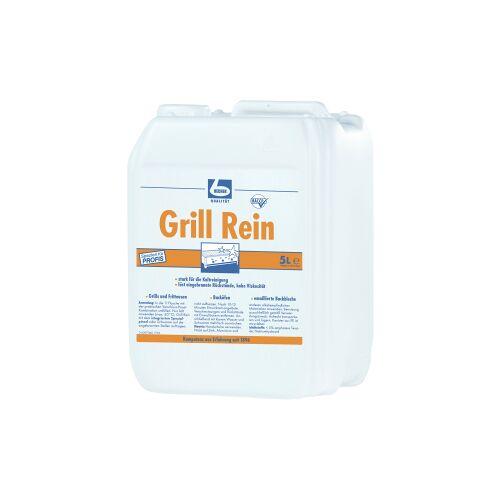 Dr. Becher GmbH Dr. Becher Grill Rein Grillreiniger, Kaltreiniger für Grills, Backöfen  und Fritteusen, 5 Liter - Kanister