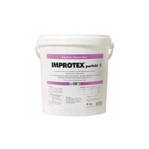 Burnus GmbH Improtex perfekt Gardinenwaschmittel, Phosphatfreies Gardinenwaschmittel, 6 kg - Eimer