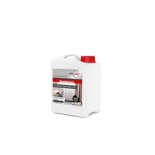 PREFLAMO Flammschutzmittel, Brandschutzimprägnierung zum Flammfestmachen, 5 Liter - Kanister