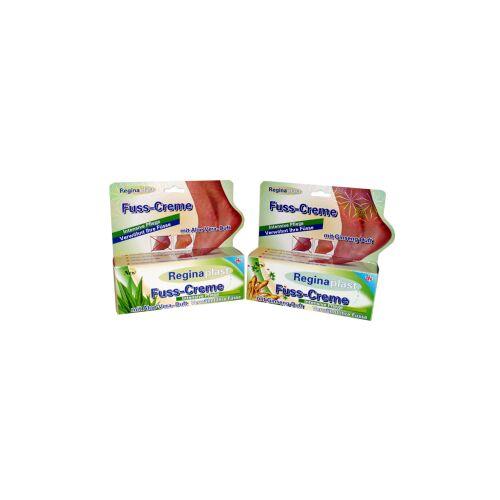 Reinex Chemie GmbH Reginaplast Fußcreme, Ginseng- und Aloe-Vera-Duft sortiert, 100 ml