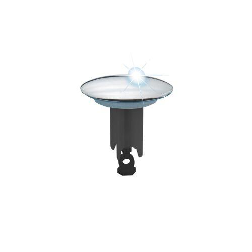 Wenko-Wenselaar GmbH & Co. KG WENKO Exzenterstopfen, Praktische Waschbeckenstöpsel passend für alle handelsüblichen Waschbecken, Chrom