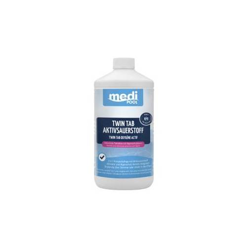 mediPOOL GmbH mediPOOL Twin Tab Aktivsauerstoff 200 g, Die 2in1 Komplettpflege auf Aktivsauerstoffbasis, 1000 g - Dose