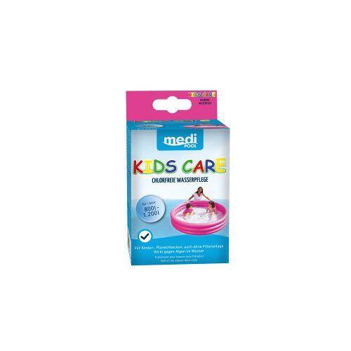 mediPOOL GmbH mediPOOL Kids Care Planschbecken-Pflege, Ideale, chlorfreie Wasserpflege für Planschbecken, 1 Packung = 5 x 50 ml - Beutel