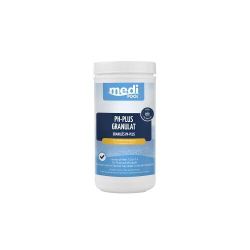 mediPOOL GmbH mediPOOL pH-Plus Granulat, Granulat zur Hebung des pH-Wertes, 1000 g - Dose