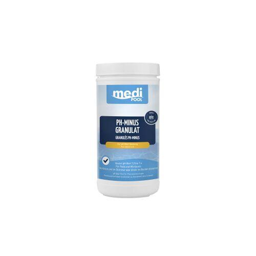 mediPOOL GmbH mediPOOL pH-Minus Granulat, Granulat zur Senkung des pH-Wertes, 1,5 kg - Dose