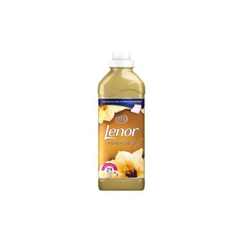 Procter & Gamble Service GmbH Lenor Golden Orchidee Weichspüler, Edle Wäschepflege die zum träumen einlädt, 870 ml - Flasche