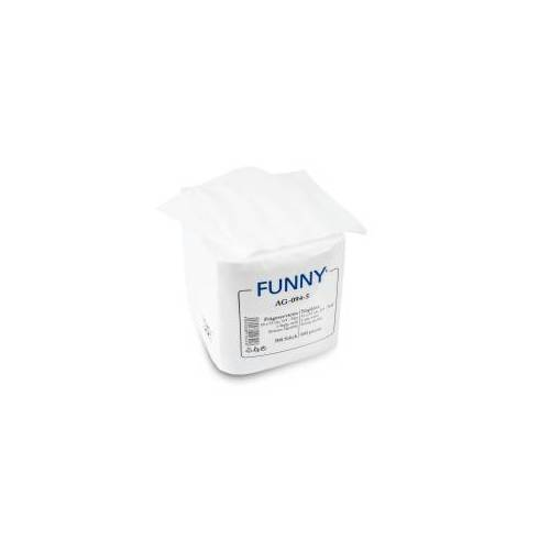 Servietten, 33 x 33 cm, 1-lagig, weiß, 1/4 Falz, Feste, saugstarke Papier-Serviette, 1 Packung = 500 Stück