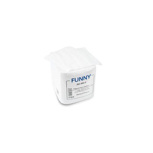 Servietten, 33 x 33 cm, 1-lagig, weiß, 1/4 Falz, Feste, saugstarke Papier-Serviette, 1 Karton = 10 x 500 Stück = 5.000 Stück