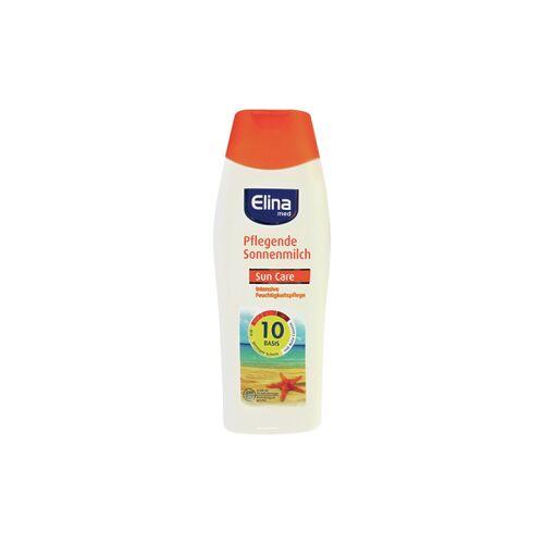 Jean Products - Werm GmbH ELINA med Sonnenschutz Milch, Sonnencreme schützt zuverlässig vor Sonnenbrand, 250 ml Flasche, LSF 10