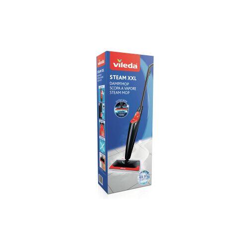 Vileda GmbH Vileda Steam Dampfreiniger XXL + Power Pad, 6-teilig, Dampfreiniger für die gründliche und hygienische Reinigung, 1 Set