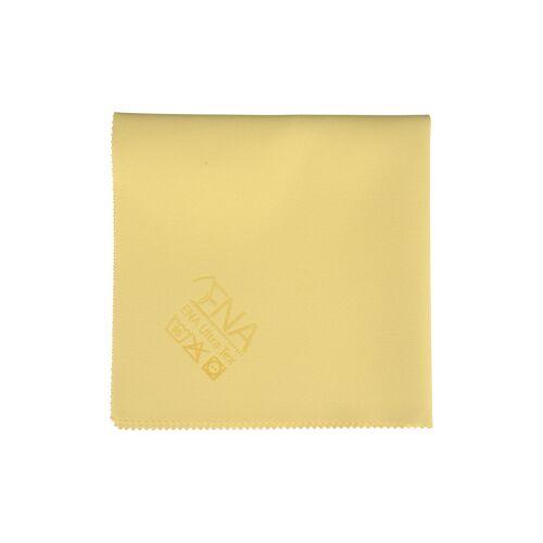 Abena Re-Seller GmbH ENA Ultra Tex PU Tuch, 38 x 37 cm, Putztuch für die fusselfreie Reinigung, 1 Packung = 5 Tücher, gelb