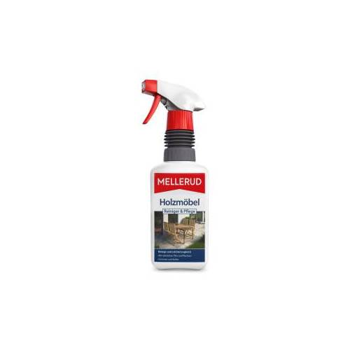MELLERUD CHEMIE GMBH MELLERUD Holzmöbel Reiniger & Pflege, naturelle Pflege durch Bienenwachs, 500 ml - Sprühflasche