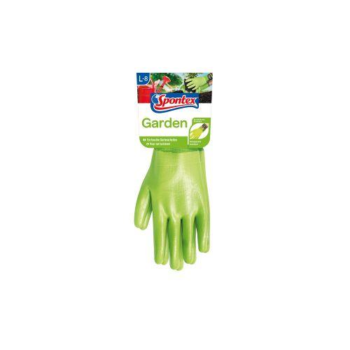 Mapa GmbH Spontex Garden Handschuhe, Nitrilhandschuhe für die Gartenarbeit, 1 Paar, Größe: 8