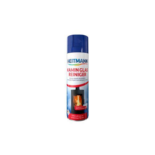 Brauns-Heitmann GmbH & Co. KG HEITMANN Kamin Glas Reiniger, Aktivschaum reinigt Kamin- und Ofenglas einfach und gründlich, 500 ml - Spraydose