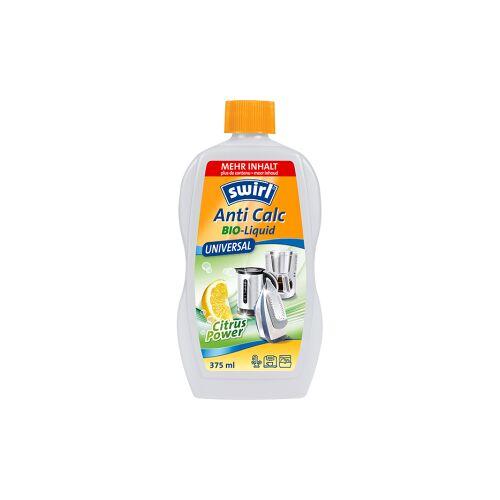 Melitta Swirl® Anti Calc Bio-Liquid Universalentkalker, Kalkentferner zur Entfernung von hartnäckigen Kalkbelägen, 375 ml - Flasche