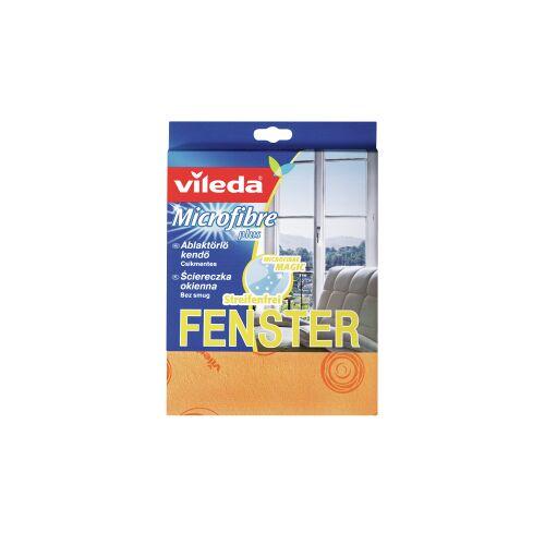 Vileda GmbH Vileda Microfaser Glas- und Fenstertuch, Strahlend saubere Fenster, 1 Packung = 1 Stück