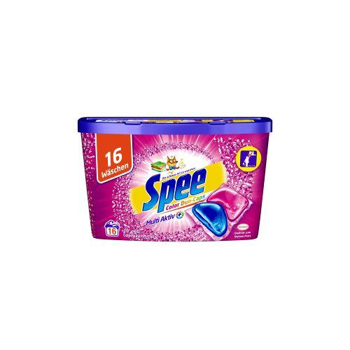 Henkel AG & Co. KGaA Spee Color Duo-Caps Waschmittel, Colorwaschmittel für langanhaltend duftende und strahlende Buntwäsche, 0,32 kg - Box für 16 Waschladungen