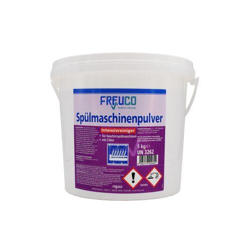 Freuco Spülmaschinenpulver, Hochglanz für Ihr Geschirr, 5 kg - Eimer