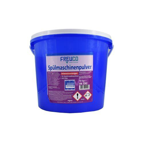 Freuco Spülmaschinenpulver, Hochglanz für Ihr Geschirr, 10 kg - Eimer