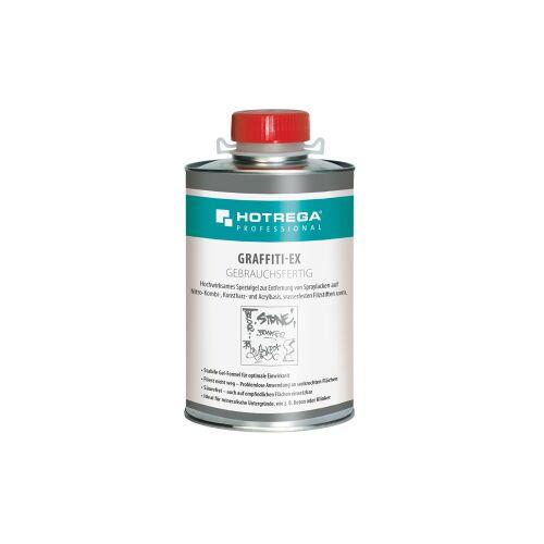 HOTREGA® GmbH HOTREGA® PROFESSIONAL Graffiti-Ex Spraylackentferner, Spezialgel zur Entfernung von Spraylacken und wasserfesten Filzstiften, 1 Liter - Dose