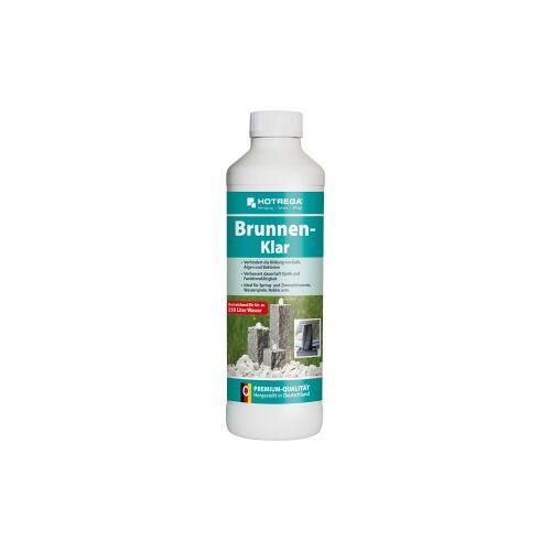HOTREGA® GmbH HOTREGA® Brunnen-Klar Brunnenreiniger, Entkalker ideal für Spring- und Zimmerbrunnen, Wasserspiele und Vernebler, 500 ml - Flasche