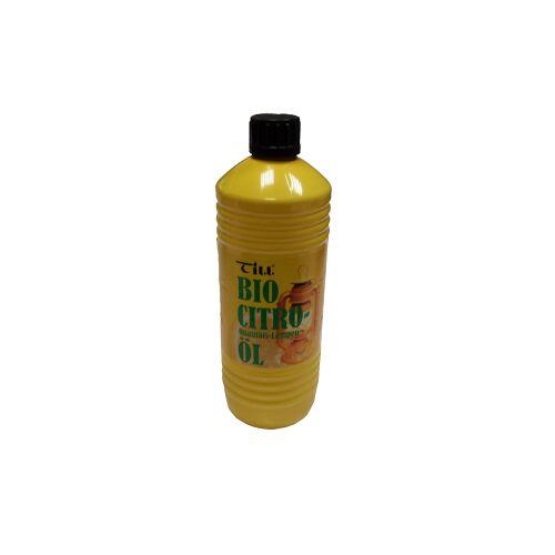 Till Bio Citro Lampenöl, Qualitätsöl mit Zitronenduft auf Bio-Basis, 1 Liter - Flasche