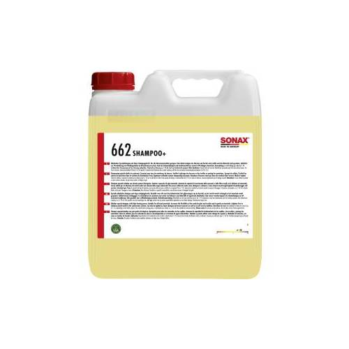 Sonax GmbH SONAX Shampoo+ alkalisches Spezialshampoo, Spezialshampoo für Waschanlagen, 10 Liter - Kanister