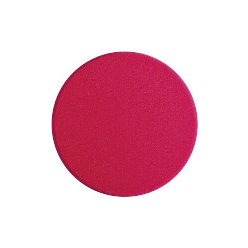 Sonax GmbH SONAX PolierSchwamm (hart) SchleifPad, Ø 200 mm, Harter feinporiger Schwamm zum maschinellen Schleifpolieren, Farbe: rot