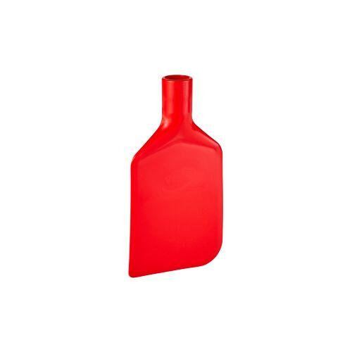 Vikan GmbH Vikan Rührlöffelblatt, 220 mm, Schaber für das Entleeren von Behältern und Töpfen, Material: Polyethylen, rot