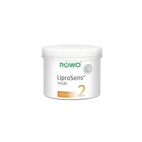 Sporto-med. GmbH RÖWO® LiproSens Salbe 2, wärmend, Thermosalbe vermindert die Reibung bei der Massage, 500 ml - Dose
