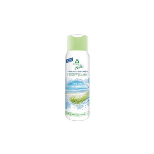 Rex Frosch Senses Sensitiv-Dusche Duschgel, Besonders hautschonende Duschpflege, 300 ml - Flasche, Meeresmineralien
