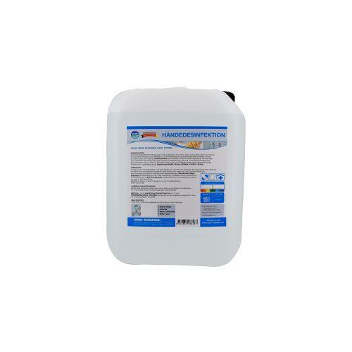 Arcora Händedesinfektion, Nicht reizendes Desinfektionsmittel zur hygienischen Händedesinfektion, 10 Liter - Kanister