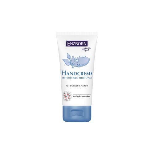 Ferdinand Eimermacher GmbH & Co. KG ENZBORN® Handcreme mit Jojobaöl  und UREA, Glättet die Haut spürbar, 75 ml Tube