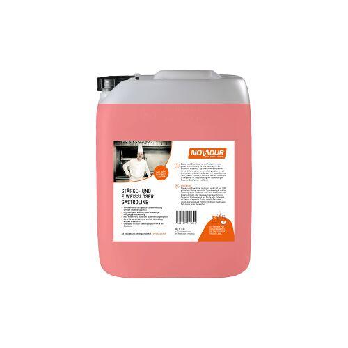 HOEBINK Reinigungsmittel GmbH NOVADUR Stärke- und Eiweißlöser Gastroline, Spezialreiniger für alle Großküchen, 10 l - Kanister