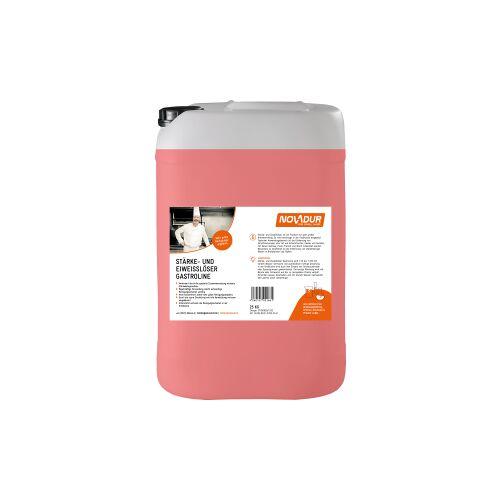 HOEBINK Reinigungsmittel GmbH NOVADUR Stärke- und Eiweißlöser Gastroline, Spezialreiniger für alle Großküchen, 25 kg - Kanister