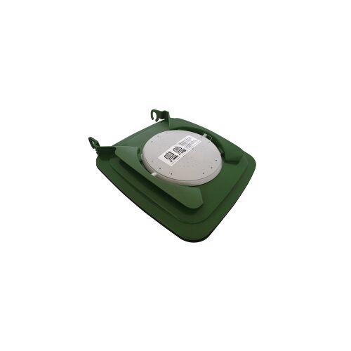Biologic Clip-Filterdeckel für Mülltonne, Bio-Deckel gegen Maden und Gestank aus der Bio- bzw. Speiserestetonne, für 120 Liter Tonne