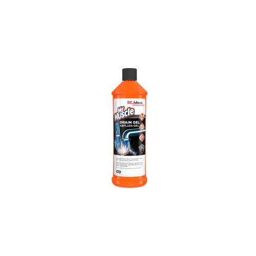 SC Johnson GmbH Mr Muscle® Abflussgel, Für alle Arten von Abflussrohren geeignet, 1 Liter - Flasche