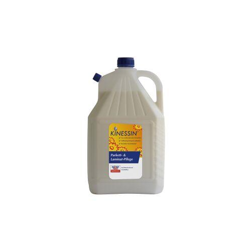 SCHWEIZER EFFAX GMBH KINESSIN Parkettpflege / Laminatpflege, reinigt und schützt versiegelte Parkettböden, 5 l - Kanister