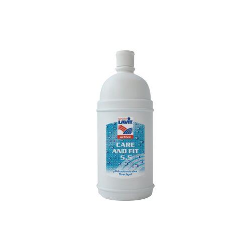 SCHWEIZER EFFAX GMBH SPORT LAVIT® Care & Fit Duschgel, Mildes, nicht kühlendes Duschgel, 1000 ml - Flasche