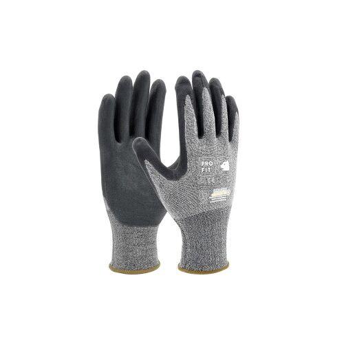 Fitzner GmbH & Co. KG Fitzner HIT Nitrilschaum Feinstrickhandschuh, Flexibler Handschuh mit bestem Griff, 1 Packung = 12 Paar, Größe: 9