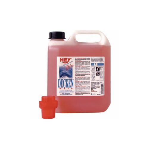 SCHWEIZER EFFAX GMBH HEY Sport Decken-Wash Waschmittel, Spezialwaschmittel für atmungsaktive Pferdedecken, 2,5 l - Kanister