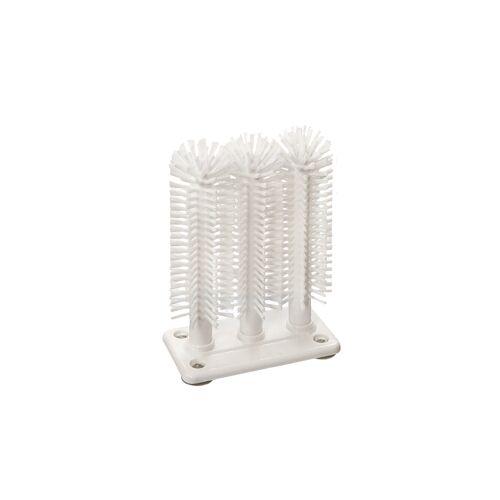 haug bürsten Haug Gläserspülgarnitur, Nylon 6.6 weiß Ø 0,40 mm (mittel), 3-teilig