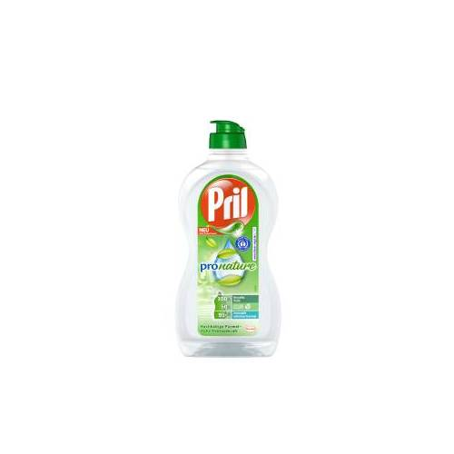 Henkel AG & Co. KGaA Pril Pro Nature Sensitive Handspülmittel , Sanft zur Haut und Umwelt, 450 ml - Flasche