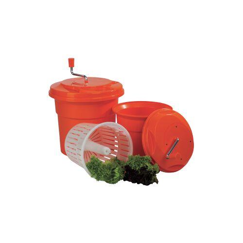 Schneider GmbH SCHNEIDER Salatschleuder, Effektiver Salattrockner zur Vorbereitung von Salaten, Fassungsvermögen: 12 Liter