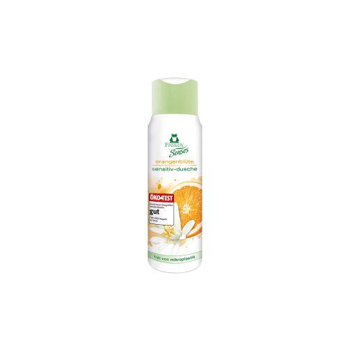 Rex Frosch Senses Sensitiv-Dusche Duschgel, Besonders hautschonende Duschpflege, 300 ml - Flasche, Orangenblüte