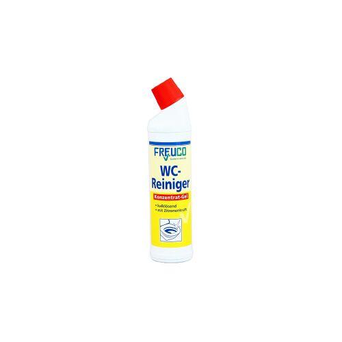 Freuco WC-Reiniger Gel, auf Zitronensäure-Basis, 750 ml - Flasche