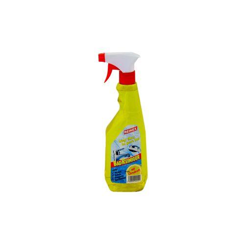 Reinex Chemie GmbH Reinex Badreiniger, kalklösender Reiniger auf Zitronensäure-Basis, 750 ml - Sprühflasche